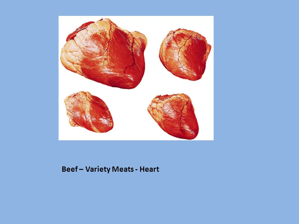 Beef – Variety Meats - Heart