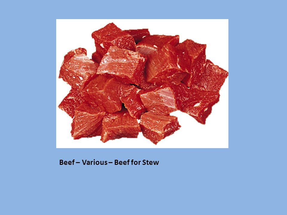 Beef – Various – Beef for Stew
