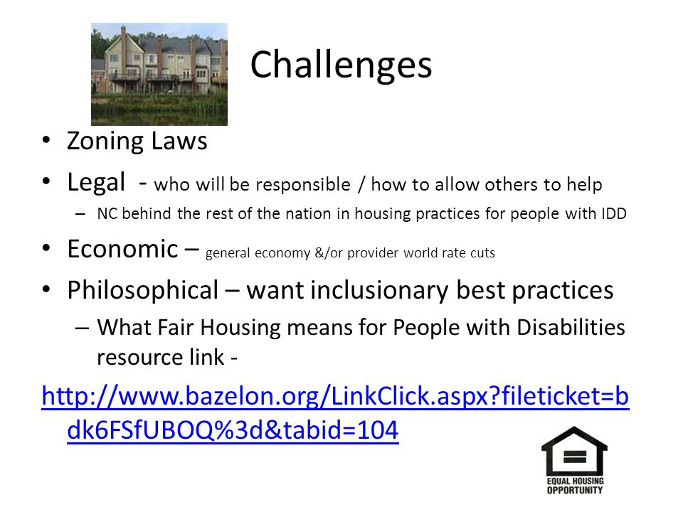 Challenges Zoning Laws