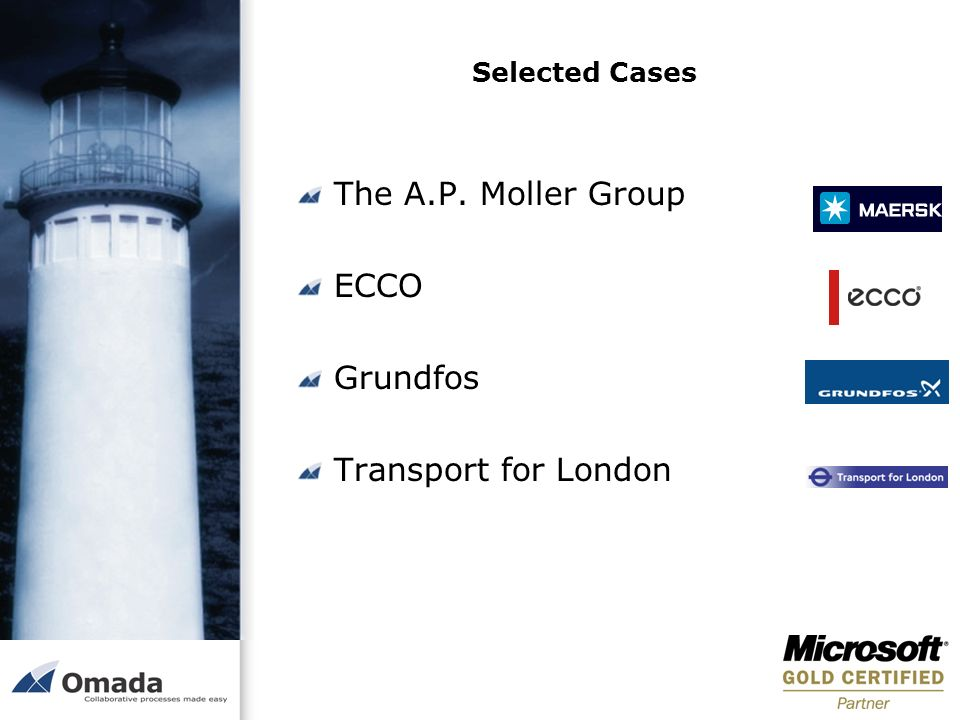 The A.P. Moller Group ECCO Grundfos Transport for London