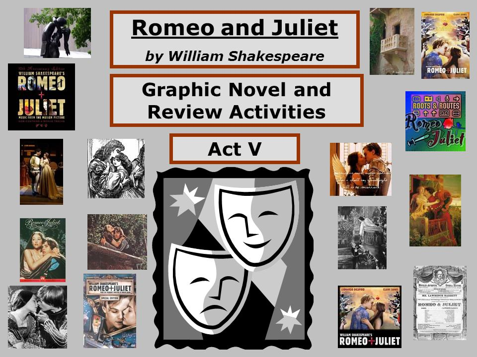by William Shakespeare Graphic Novel and Review Activities - ppt ...