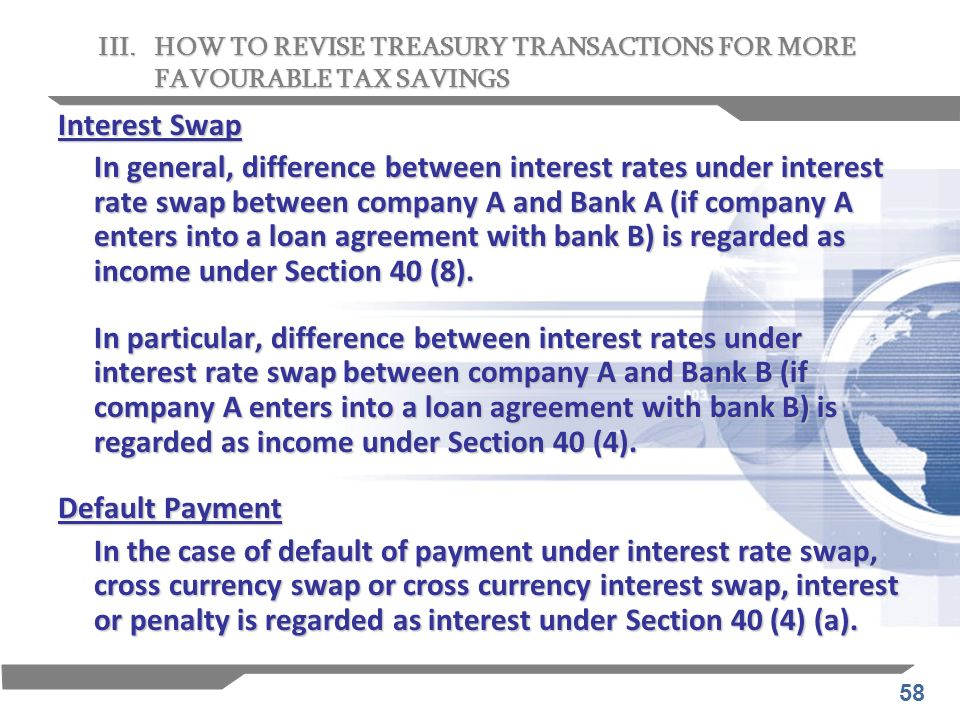 III. HOW TO REVISE TREASURY TRANSACTIONS FOR MORE