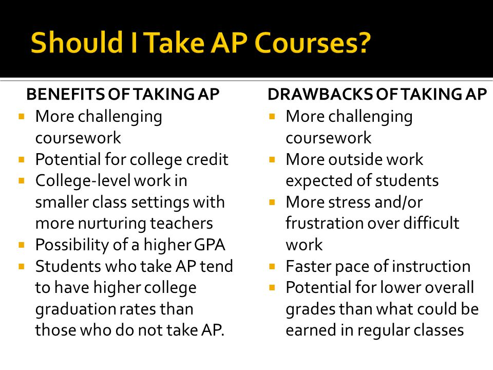 Should I Take AP Courses