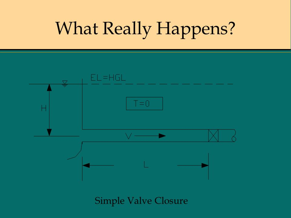 What Really Happens Simple Valve Closure