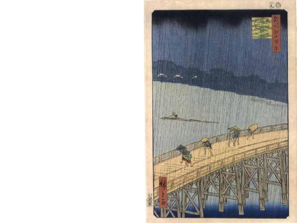 Hiroshige s One hundred views of famous places of Edo