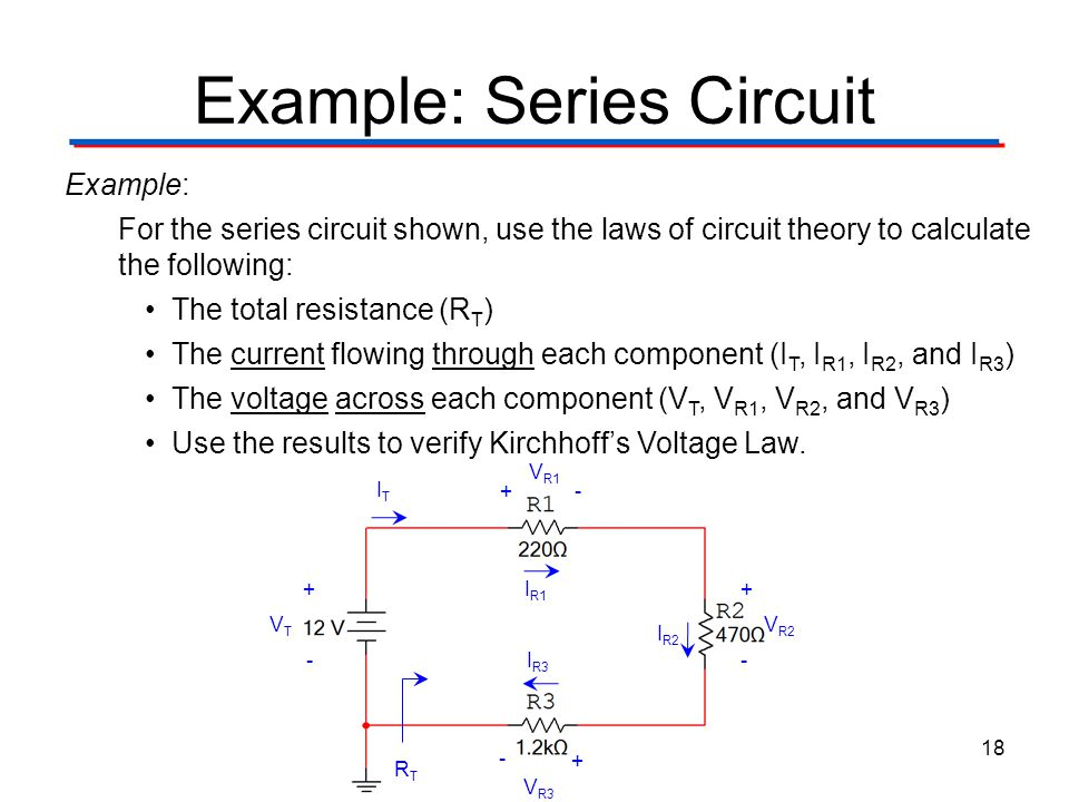 circuit theory laws circuit theory laws digital electronics tm pptexample series circuit