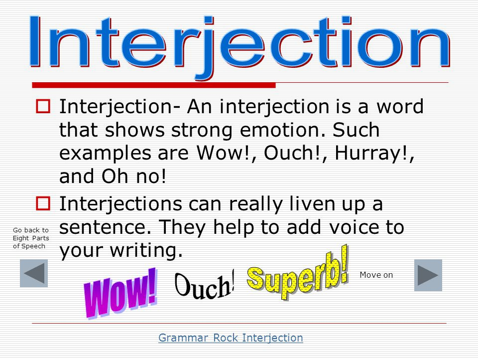 Cbse class 8 english grammar interjection cbse tuts.