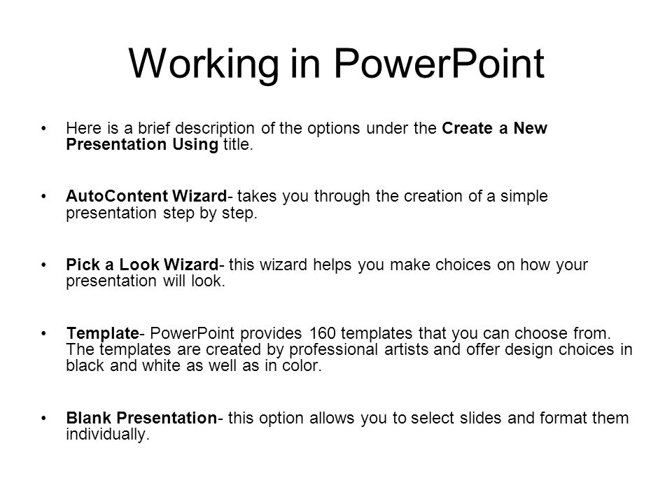 Developing A Powerpoint Presentation Ppt Video Online Download