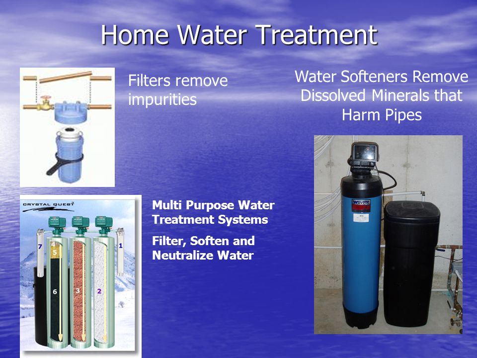 Water Softeners Remove Dissolved Minerals that Harm Pipes