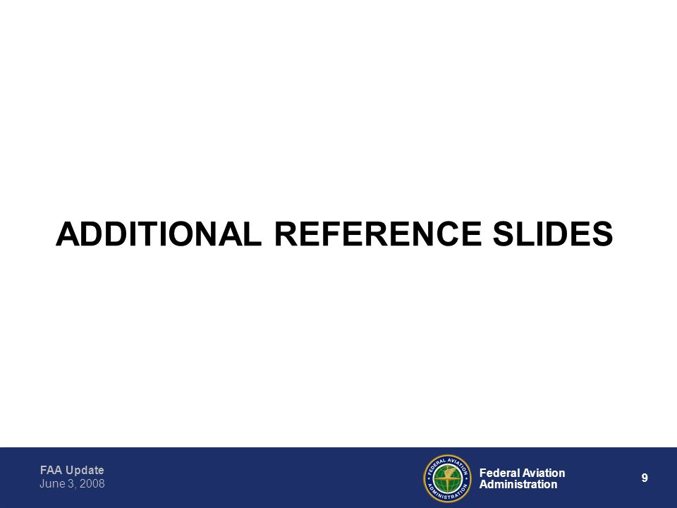 ADDITIONAL REFERENCE SLIDES