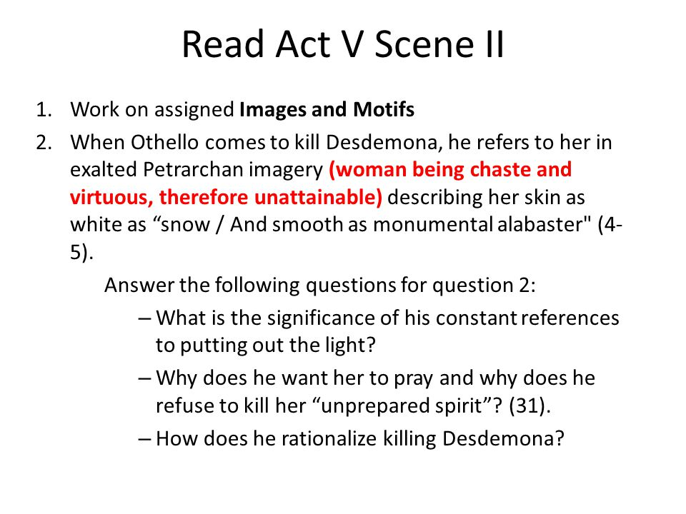othello act 5 quotes