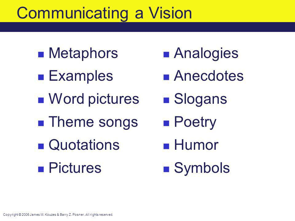 Communicating a Vision