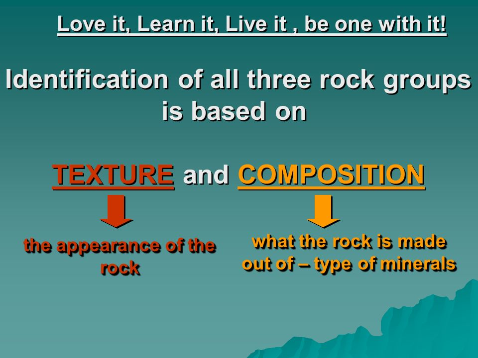 Identification of all three rock groups is based on