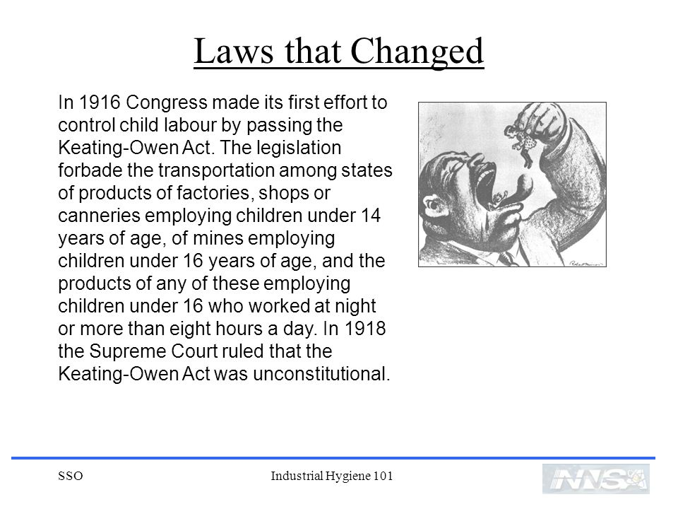 Laws that Changed