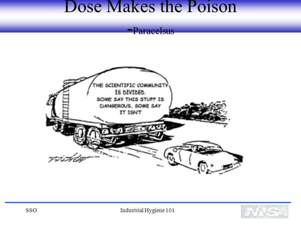 Dose Makes the Poison -Paracelsus