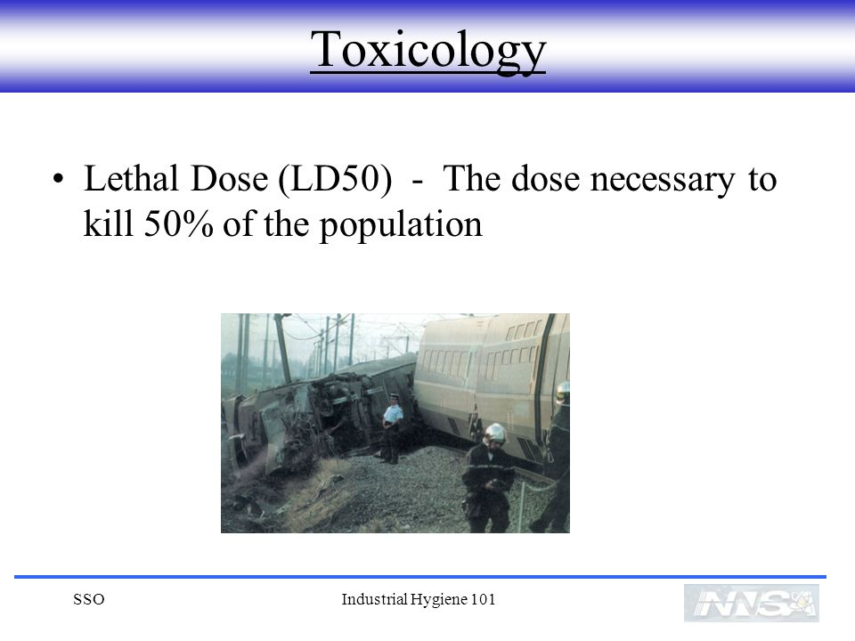 Toxicology Lethal Dose (LD50) - The dose necessary to kill 50% of the population.