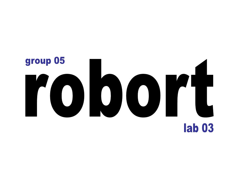 group 05 robort lab 03