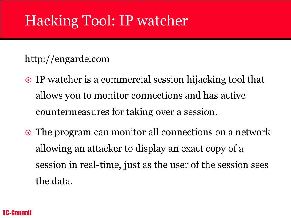 Hacking Tool: IP watcher