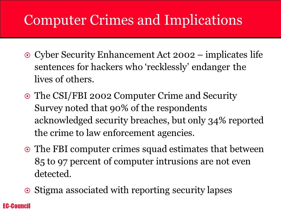 Computer Crimes and Implications