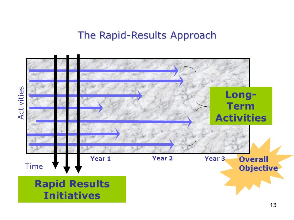 Rapid Results Initiatives