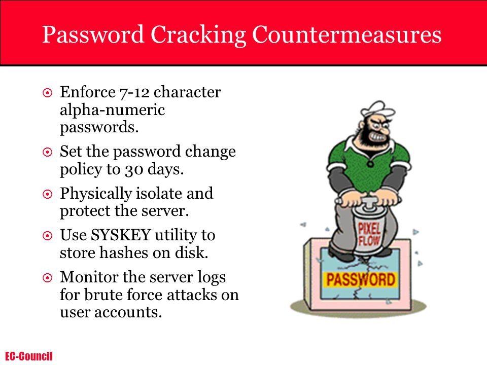Password Cracking Countermeasures