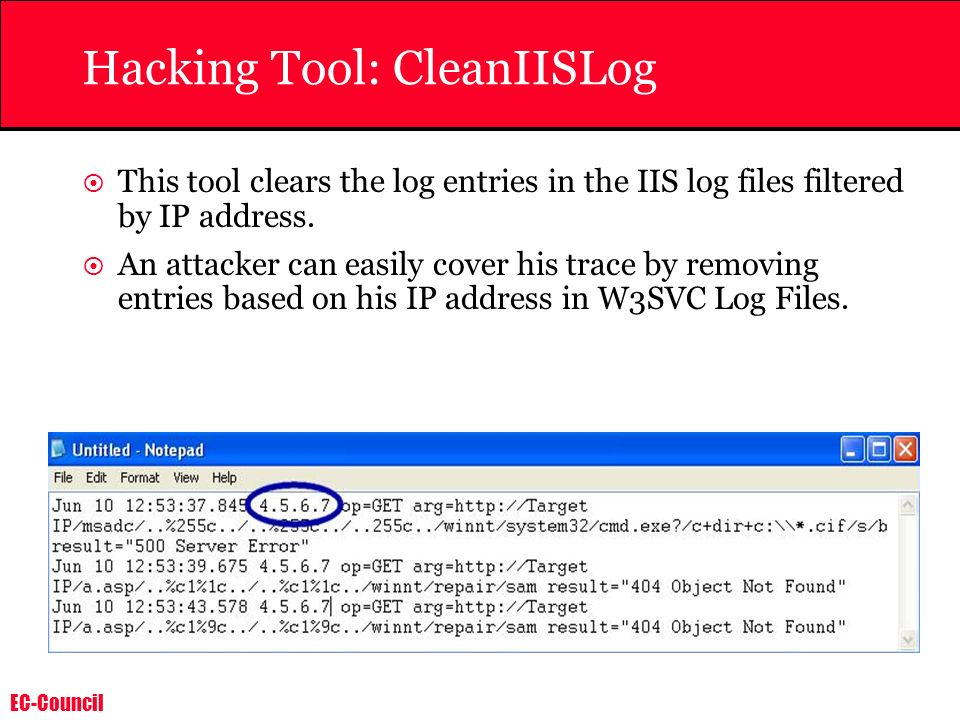 Hacking Tool: CleanIISLog