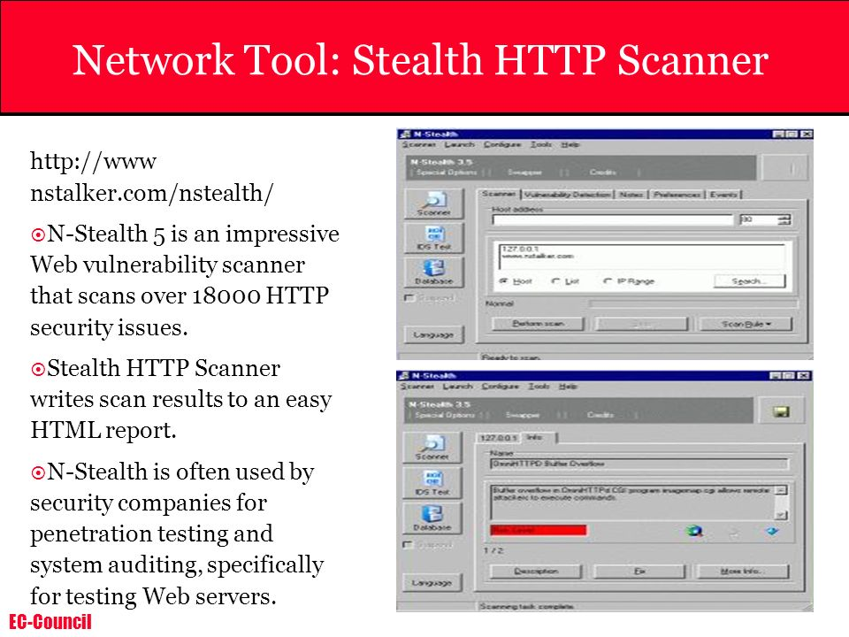 Network Tool: Stealth HTTP Scanner