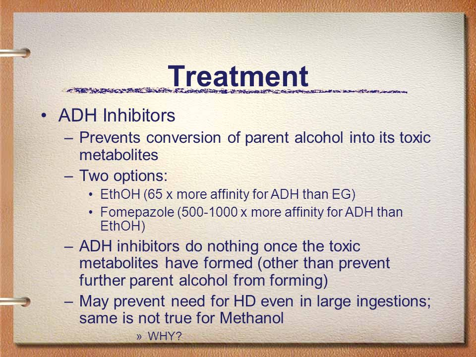 Treatment ADH Inhibitors