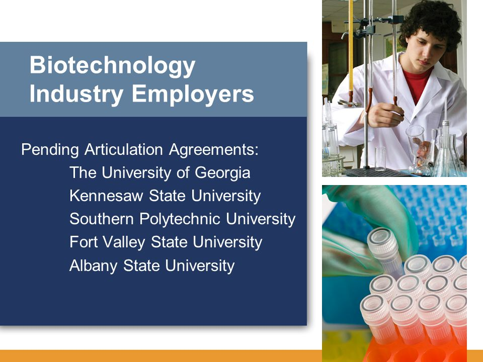 Biotechnology Industry Employers