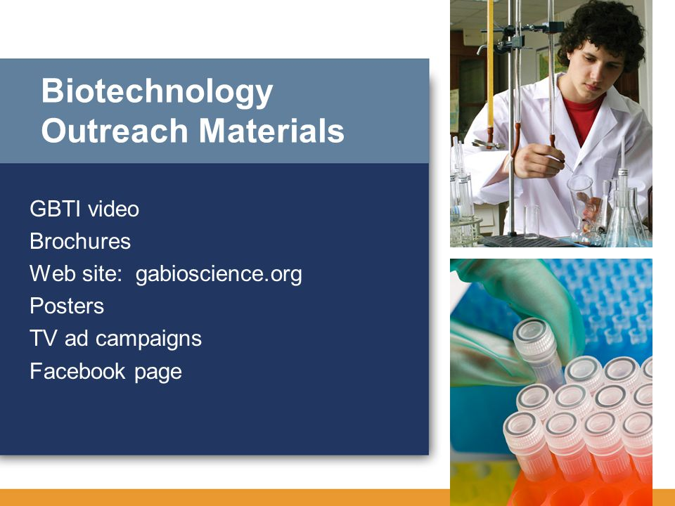 Biotechnology Outreach Materials