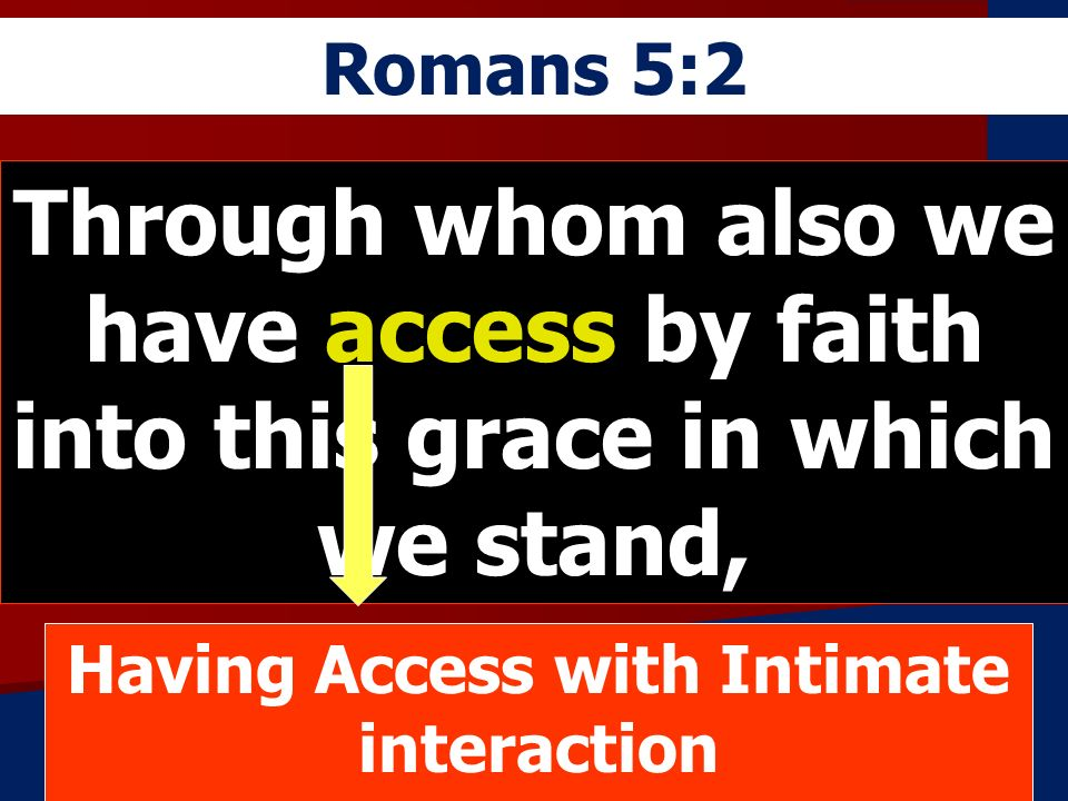 Having Access with Intimate interaction