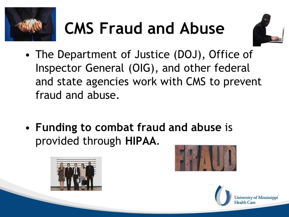 CMS Fraud and Abuse