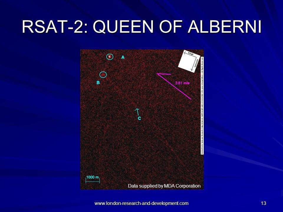 RSAT-2: QUEEN OF ALBERNI