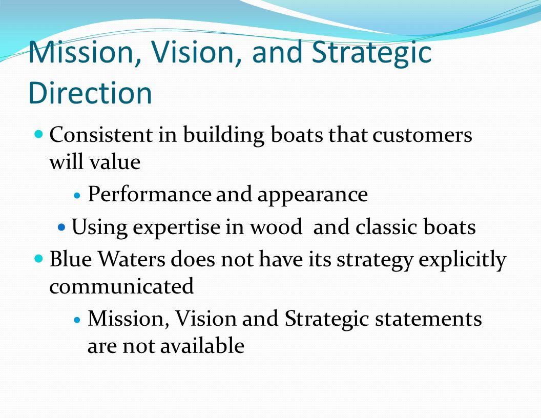 Mission, Vision, and Strategic Direction