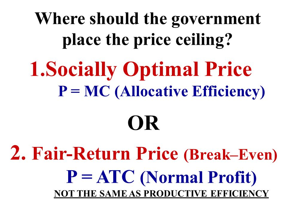 1.Socially Optimal Price