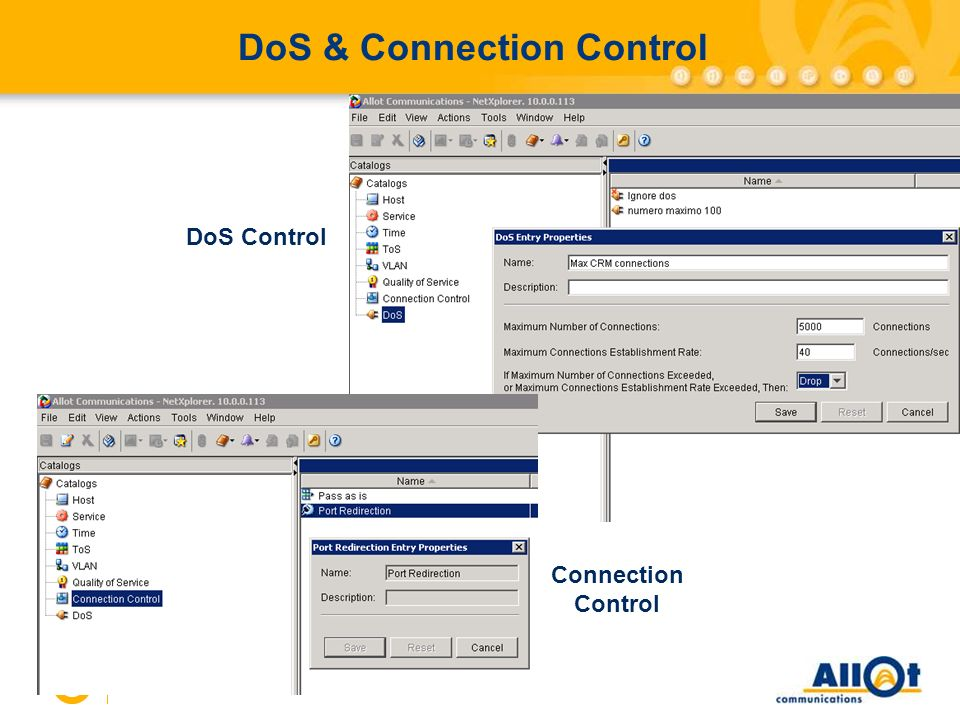 DoS & Connection Control