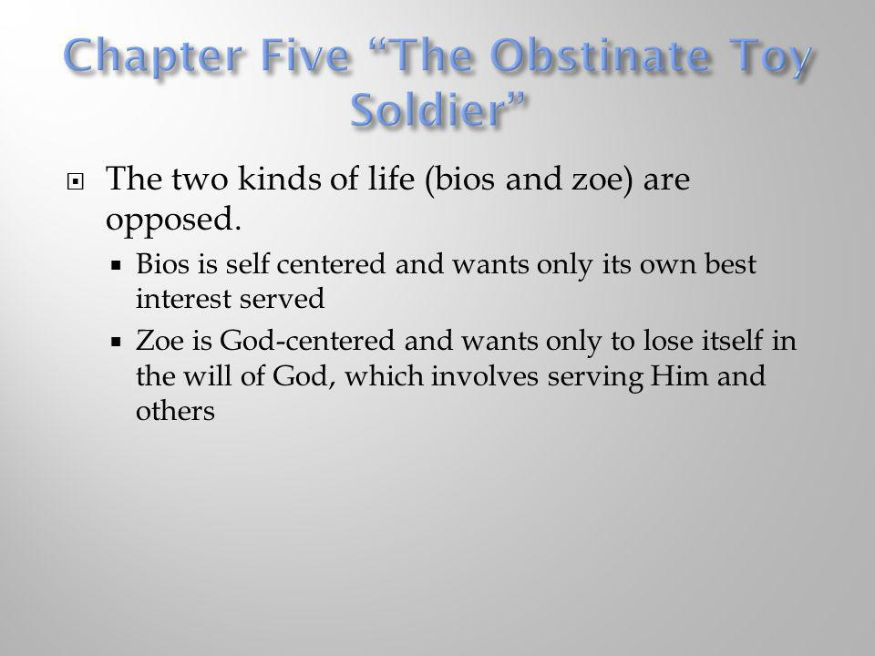 Chapter Five The Obstinate Toy Soldier