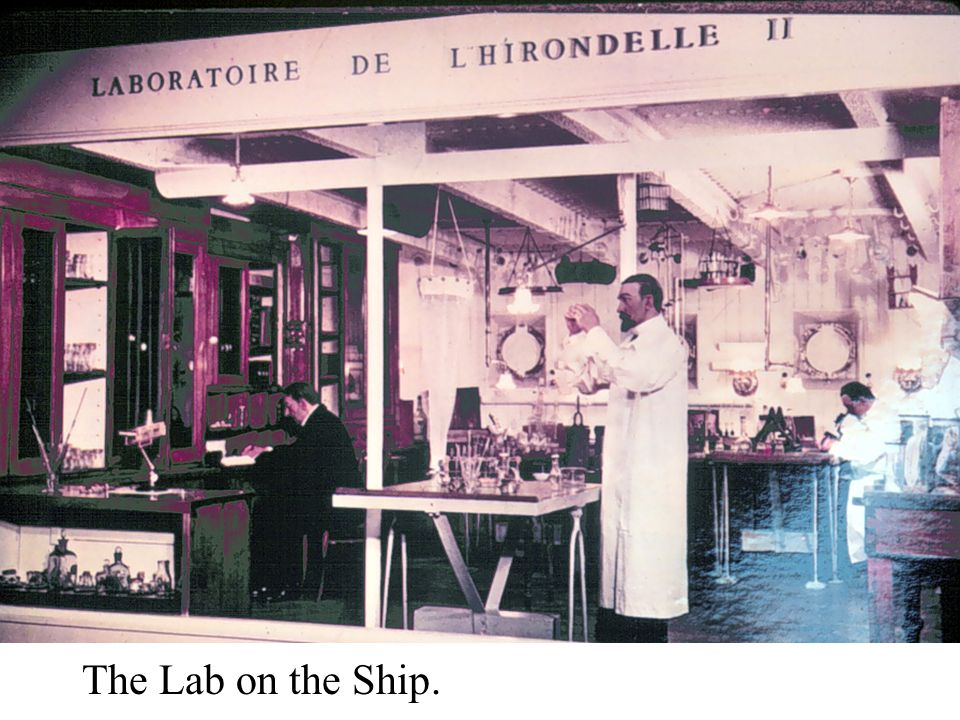 The Lab on the Ship.