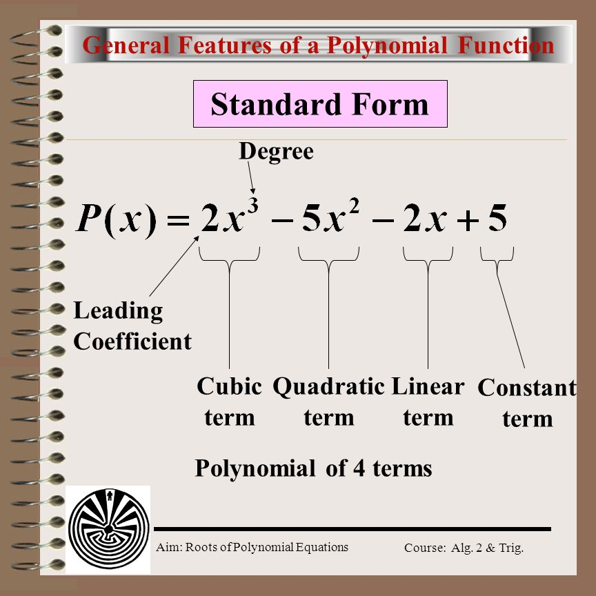 Aim How Do We Find The Zeros Of Polynomial Functions Ppt Download