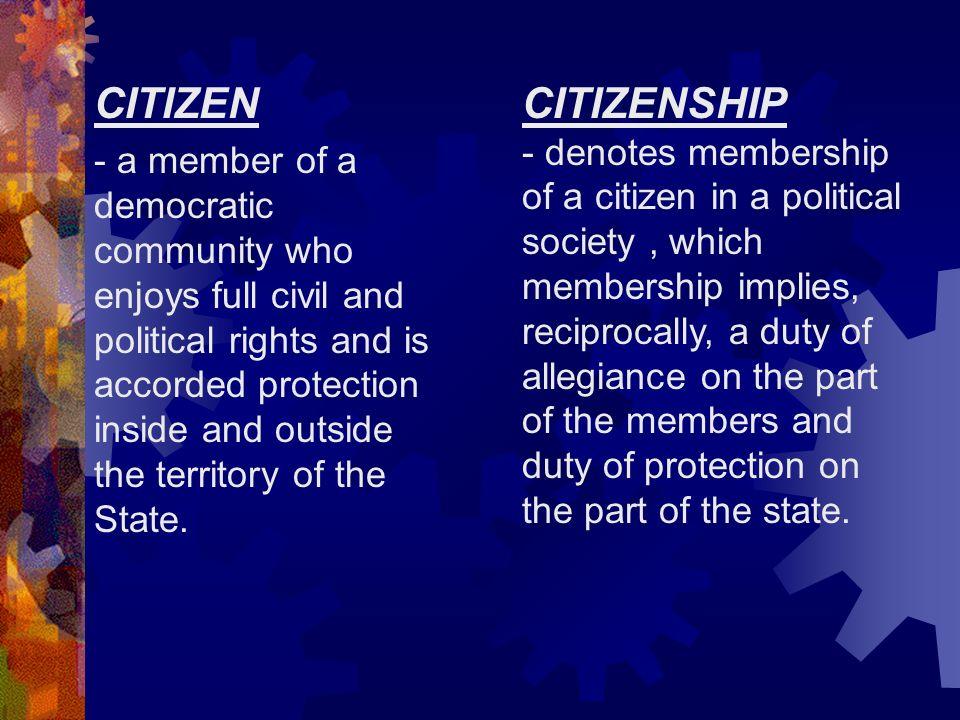 ARTICLE IV CITIZENSHIP  - ppt video online download