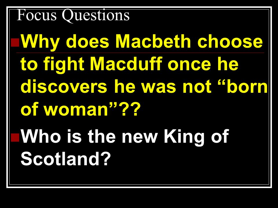 Who is the new King of Scotland