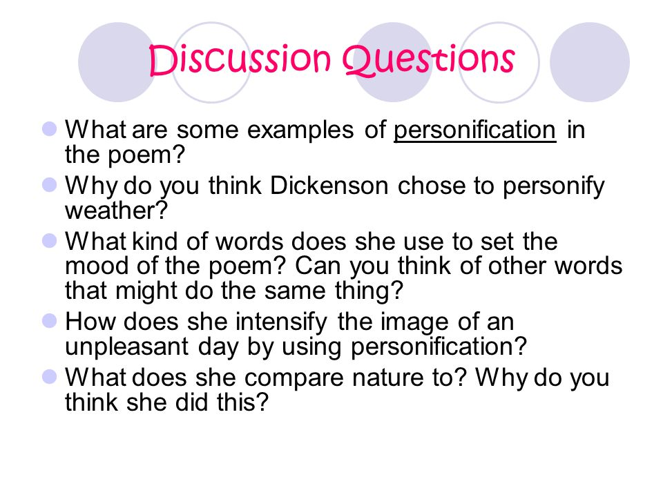 What Is Personification Ppt Video Online Download