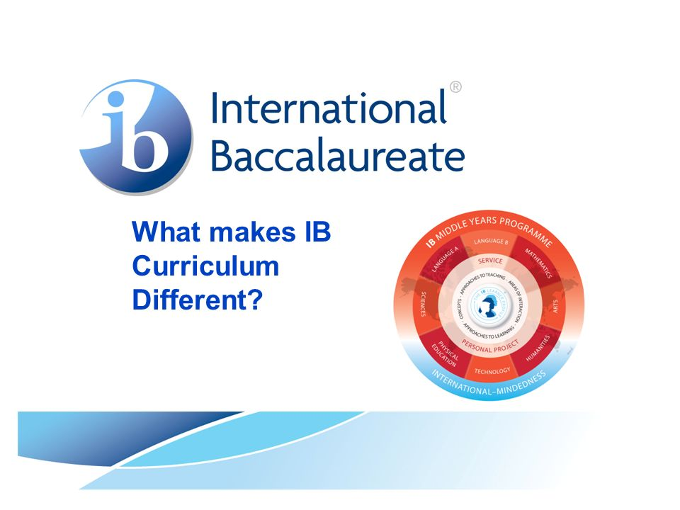 What makes IB Curriculum Different