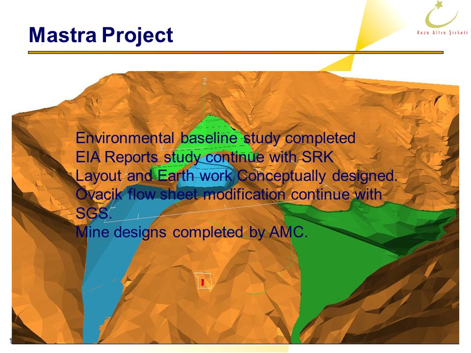Mastra Project Environmental baseline study completed