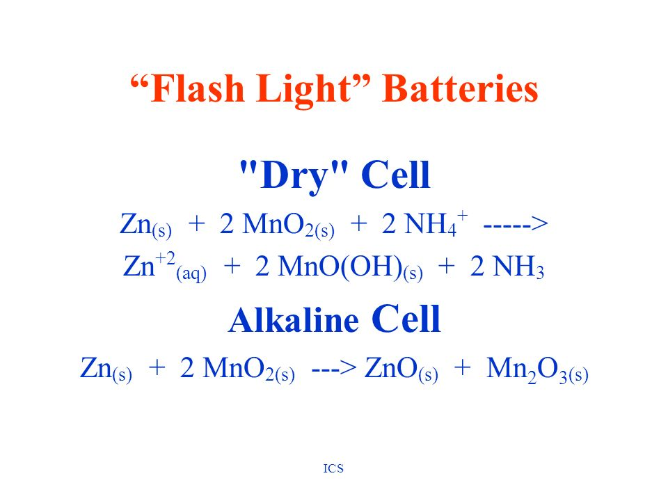 Flash Light Batteries