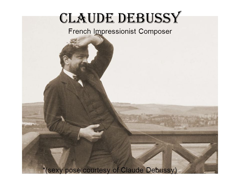 Claude Debussy French Impressionist Composer