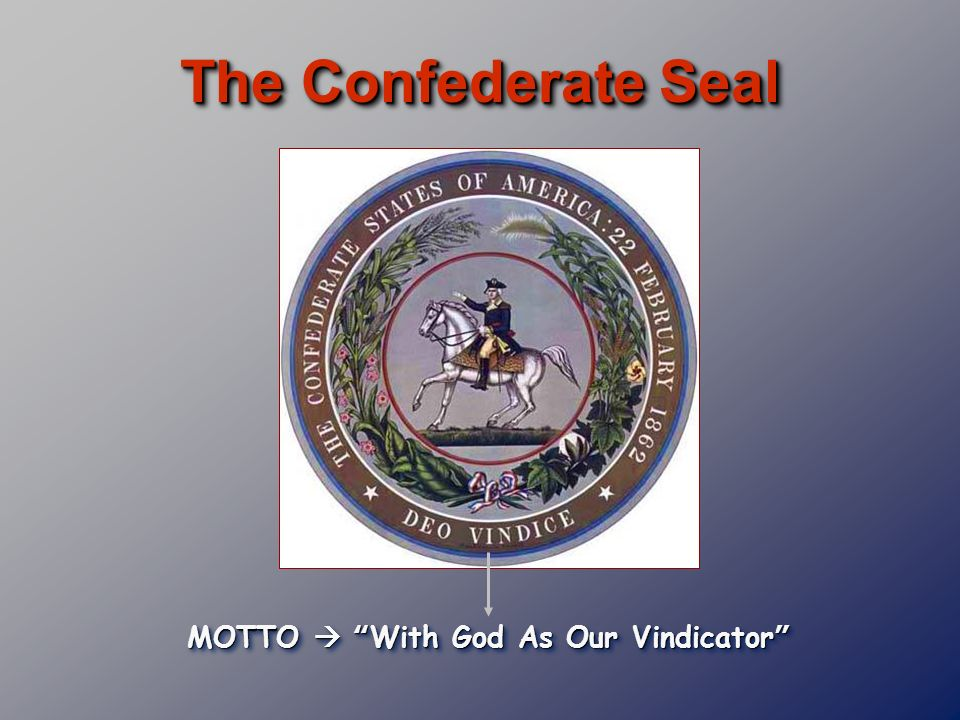 MOTTO  With God As Our Vindicator
