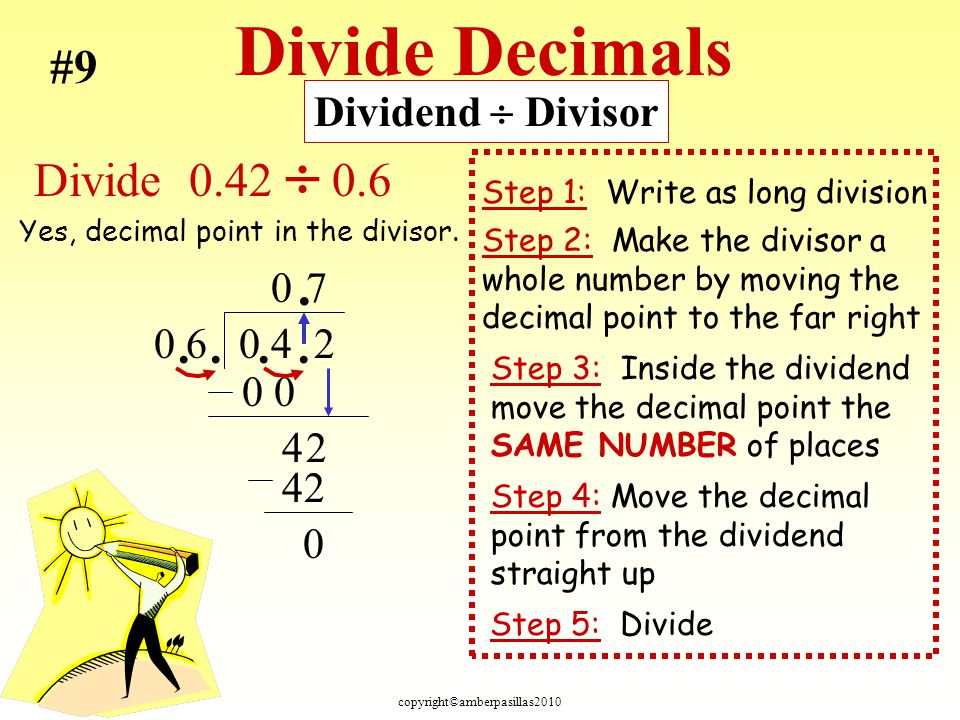 Understanding Division and Dividing With Decimals - ppt download