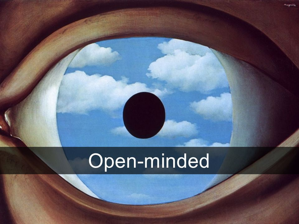 Open-minded 17