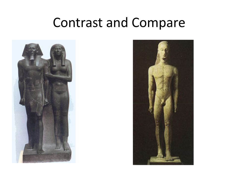 Contrast and Compare